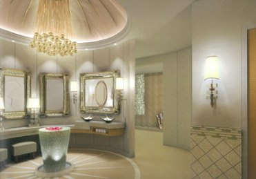 Bathroom of Antilla
